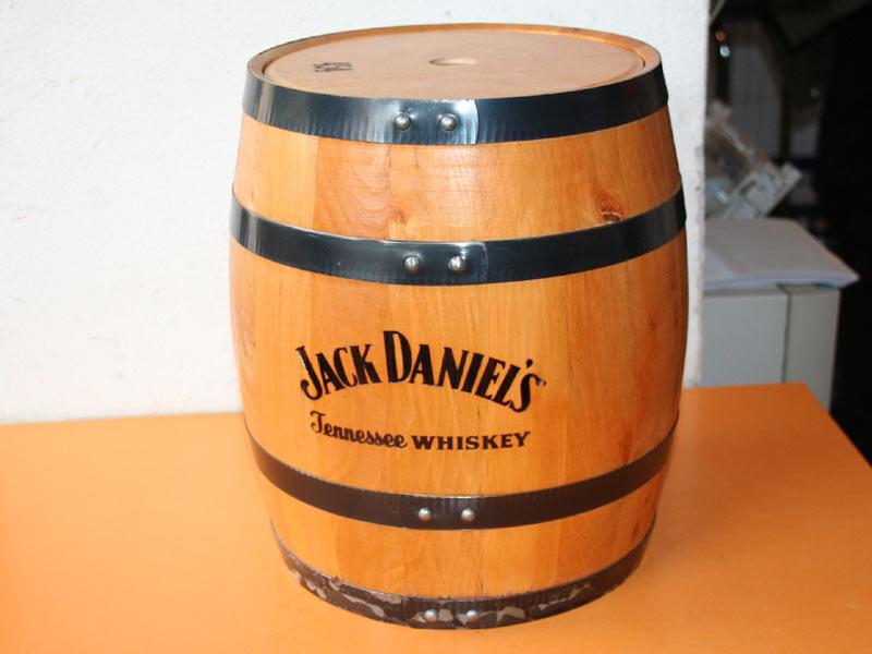 jack daniels holzfa fa aus holz 28cm hoch 22cm ebay. Black Bedroom Furniture Sets. Home Design Ideas